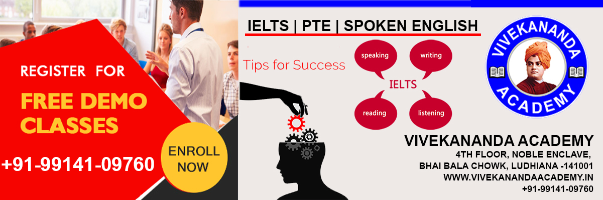 IELTS PTE SPOKEN ENGLISH COACHING IN LUDHIANA